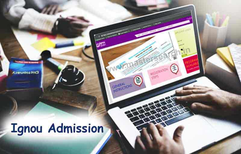Ignou Admission, Ignou Online Admission