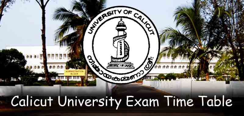 Download Calicut University Time Table