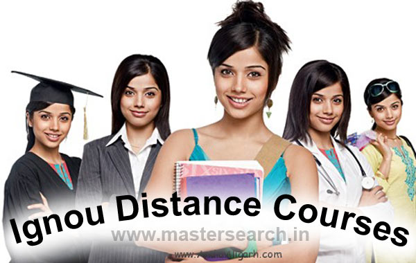 Ignou Distance Courses offered
