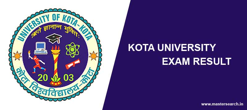 kota university result online
