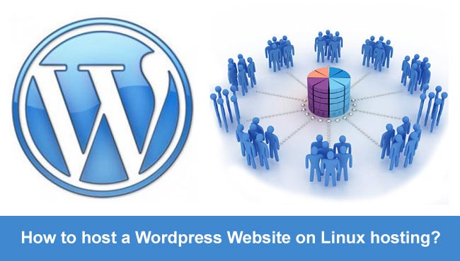 How to host a wordpress website on linux hosting