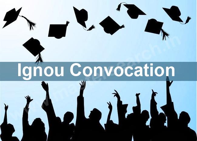 Ignou Convocation Application Form Online