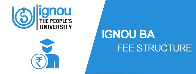 ignou fee structure for ba bdp