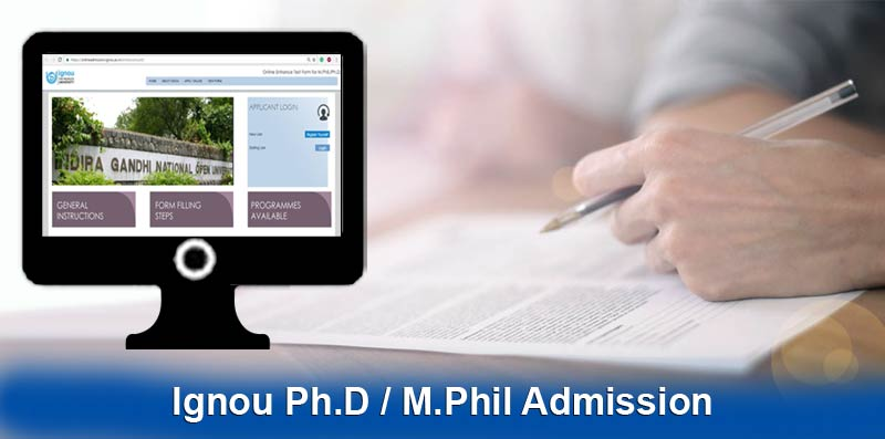 ignou phd admission