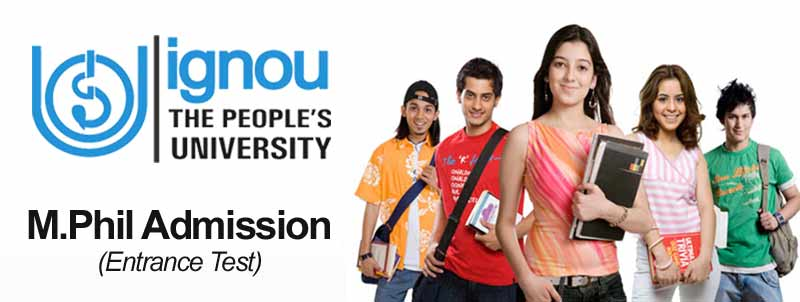 ignou m.phil admission entrance test