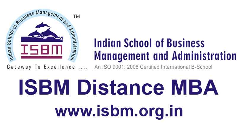 isbm distance mba learning