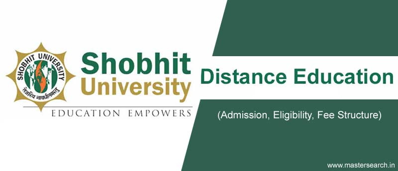 Shobhit University Distance Education Fee Structure