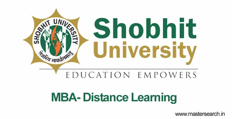 shobhit university distance mba education