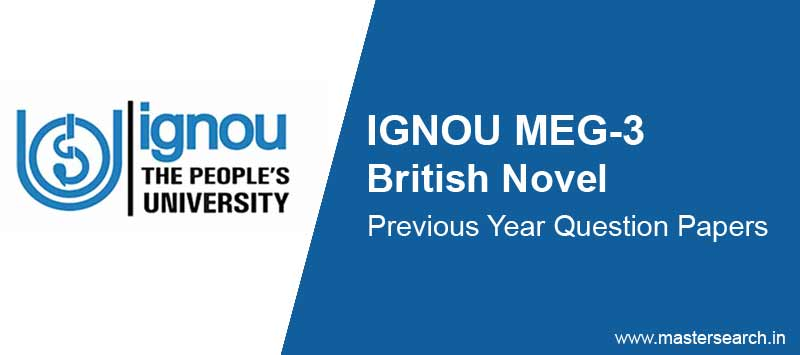 Download Ignou MEG 3 Question Paper Online