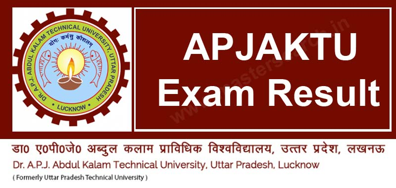 APJAKTU Result at aktu.ac.in results