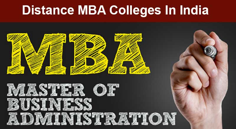 Distance Learning MBA in India