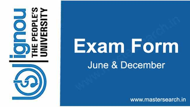 Download Ignou exam form online
